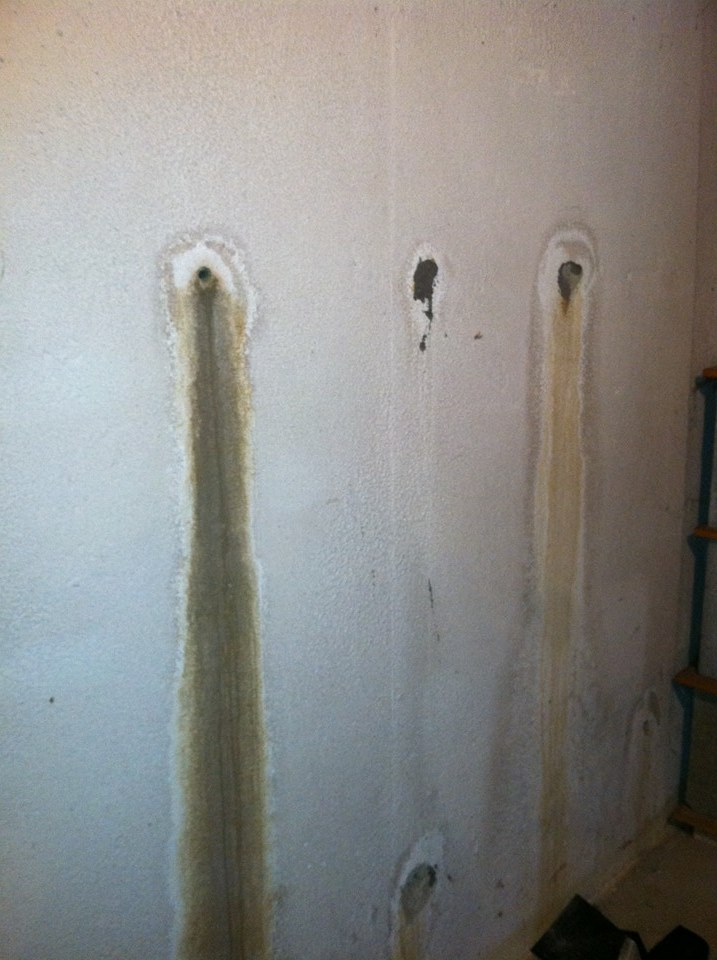 foundation wall leaks in bay city mi