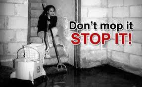 leaks in mi basement