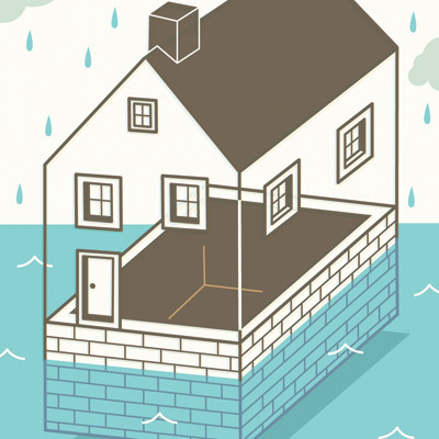wet basement options in Macomb MI