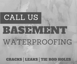 Michigan basement waterproofing