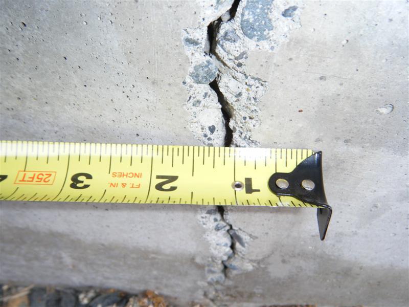 basement wall crack repair in Michigan