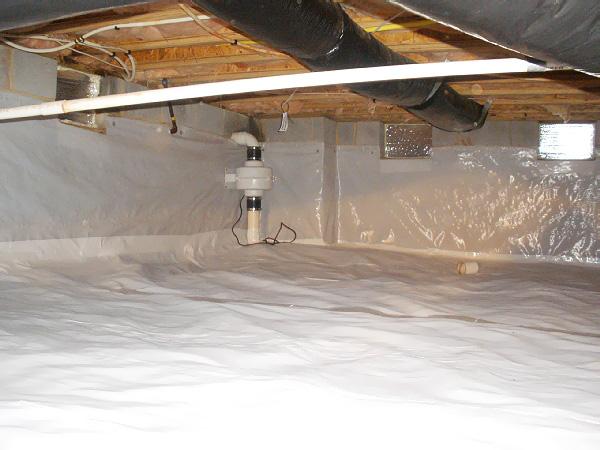 crawlspace waterproofing metro detroit
