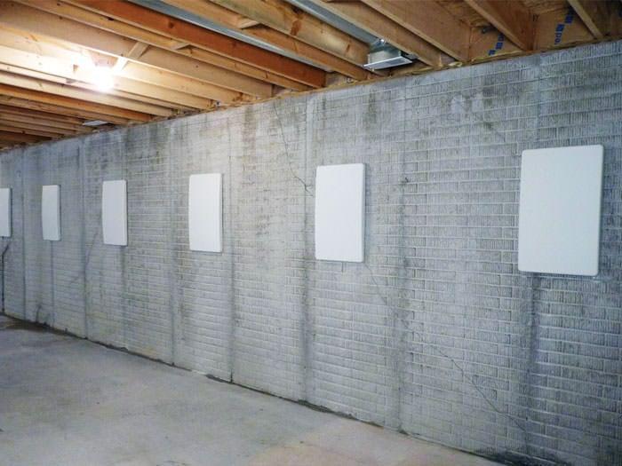 basement wall crack repair mi
