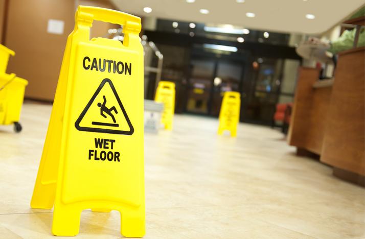 wet floor trenton water intrusion