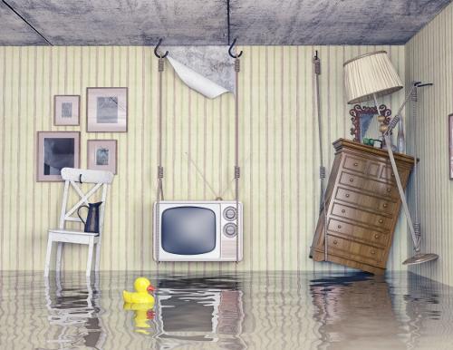 Flat Rock leaky basement repair
